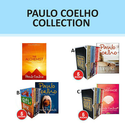 Paulo Coelho Collection Set The Pilgrimage,The Zahir,Valkyries Gift Wrapped New
