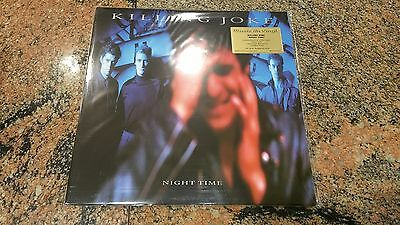 Killing Joke ‎– Night Time ' LP MINT & SEALED LIMITED EDITION Nº 458 SILVER
