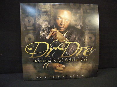 Dr. Dre ‎– Instrumental World VOL . 38 ' 3 X LP MINT MA-0811-07