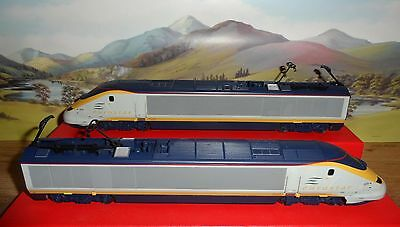 Hornby Model Railways Oo Gauge 2 Car  Eurostar Locomotive Train