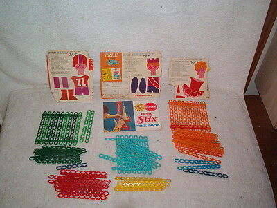 Borden's 98 Stix's with end panels and book of Trix Nos see scans