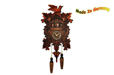 Black forest Cuckoo clock, Spinning Dancer, Music, NOVELTY 2015, Made in Germany