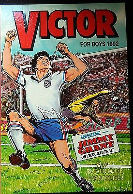Victor Book For Boys - 1992 Annual - Unclipped