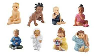 1:12 scale dolls house miniature resin dolls 8 cute babies to choose from.