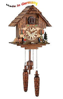 Quartz Cuckoo Clock, Black Forest, Wood, Made in Germany, Gift