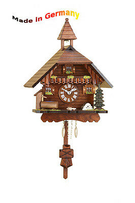 Black Forest Cuckoo Pendulum clock with Quartz movement, cuckoo, Made in Germany