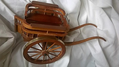 Handmade Model Horse Drawn Carriage