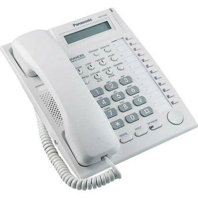 Panasonic KX-T7730 Telephone In White 12 Months Warranty