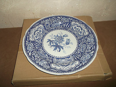 Spode Blue Room Collection Large Plate Floral ~~Boxed~~