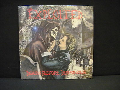 The Exploited – Death Before Dishonour ' LP MINT & SEALED