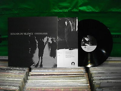 Remain In Silence – Lonesome Hours · The Monument & Seven Rooms ' LP MINT