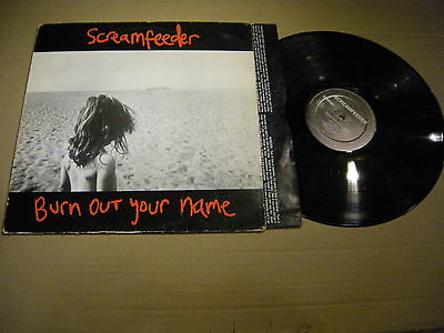 Screamfeeder – Burn Out Your Name ' LP VG+ 1993 SURVIVAL
