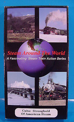 Vt592 Vhs Tape Scholl Steam Around The World Cuba Stronghold Of American Steam