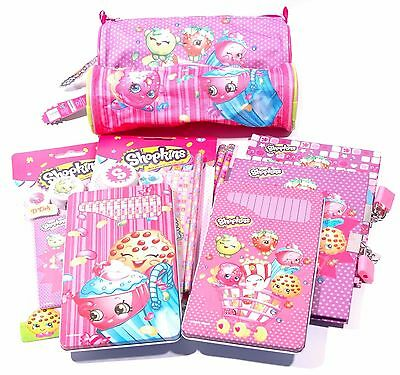 Official Shopkins Stationery Bumper Packs School Kids Party Bag Christmas Gifts