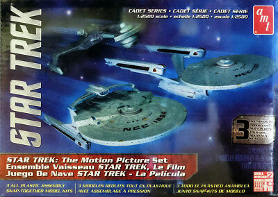 Star Trek The Motion Picture Set 3 Modelle USS 1:2500 AMT Model Kit AMT762