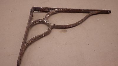 Antique Ornate Cast Iron Metal Shelf Brace Bracket ARCHITECTURAL SALVAGE  #8