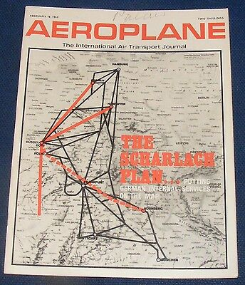 Aeroplane February 14 1968 - The Scharlach Plan