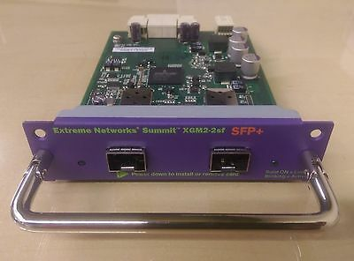 Extreme Networks XGM2-2SF (16114) 10Gb SPF+ module for X350 X450e & X450a