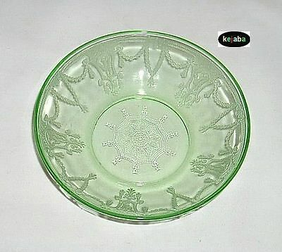 Cameo Ballerina Green Bowl 5 1/2 in. Cereal Hocking