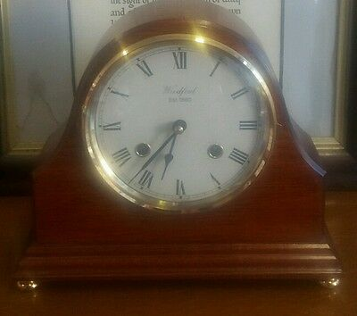 Woodford Franz Hermle Movement ( Germany ) Mantle Clock selfwind