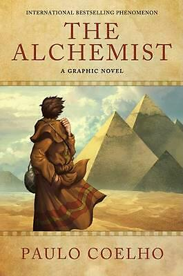The Alchemist: A Graphic Novel by Paulo Coelho (English) Hardcover Book Free Shi