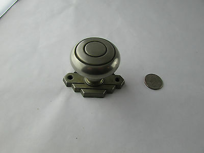Vintage Art Deco Door Knob And Backplate Architectural Decor