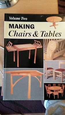 Making Chairs and Table, Woodworking book