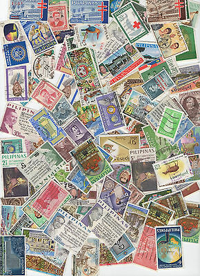 Philippines  100 Stamps from Philippines All Different