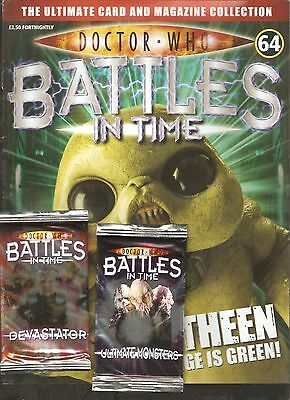 RARE! DOCTOR WHO BATTLES IN TIME featuring SARAH JANE SMITH + 2 TRADING CARDS