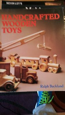 Handcrafted Wooden Toys,  Woodworking book