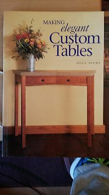 Making Elegant Custom Tables, woodworking book