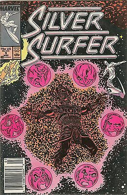 Silver Surfer, Issue 9 . Dated: March 1988. In original packaging