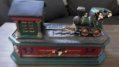 Franklin Mint The First Monopoly Mechanical Bank