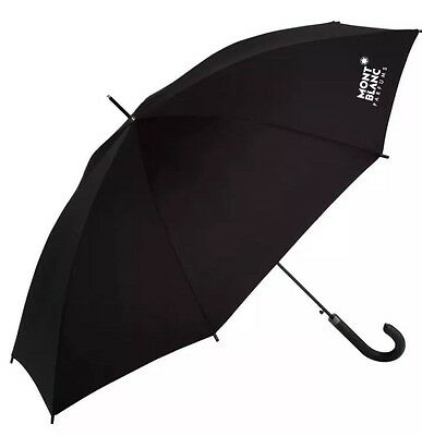 Mont Blanc Montblanc Parfums Umbrella black Huge jumbo large oversized Size New