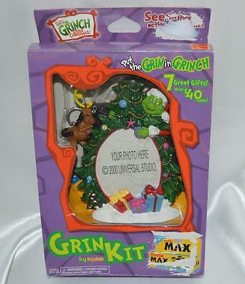 How the GRINCH Stole Christmas Keychain Photo Frame Magnets Stickers Kodak Film