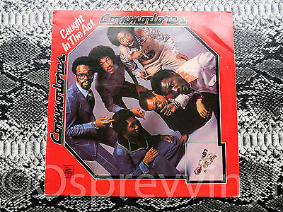LIONEL RICHIE THE COMMODORES - Caught in the Act (Tamla Motown STML 11286) UK LP