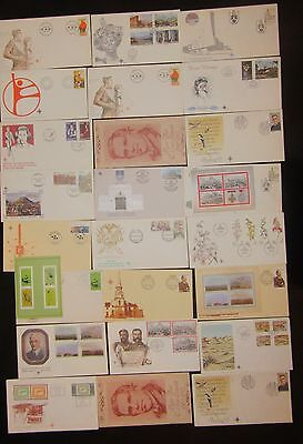 1979s+SOUTH AFRICA X22 COVERS SOME WITH MINI SHEET,s MINT .FULL SETS ON COVERS