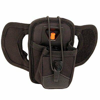 "T-REIGN Outdoor 0TRH-1011 Radio Holster Black Small 6oz/36"" Kevlar Tether"