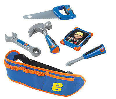 360129 Bob the Builder Tool Belt Set inc x6 Accessories Boys Toy Children Age 3+