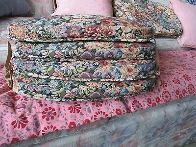 Ercol Cushions To Fit Cowhorn Dining Chairs Or Rockers 8 Cushions Or 4 Sets 88