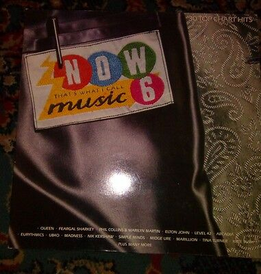 """Now thats what i call music 6 2x12""""vinyl record"""