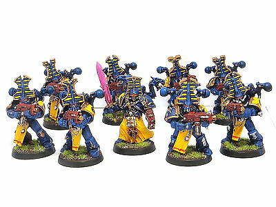 THOUSAND SONS SQUAD -  Painted Warhammer 40K Tzeentch Chaos Space Marine Army