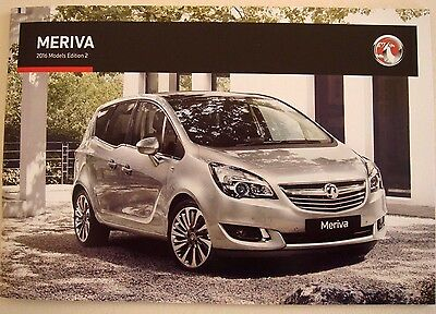 Vauxhall . Meriva . 2016 Models . Edition 2 . Sales Brochure