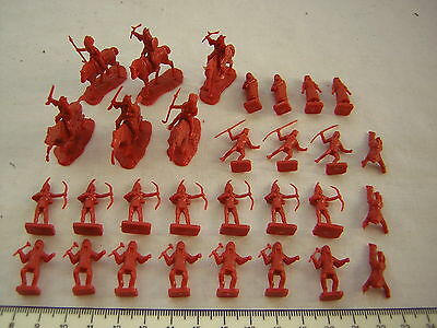 30 X Airfix American Indians / Native Americans (Full-Set) Scale 1:72