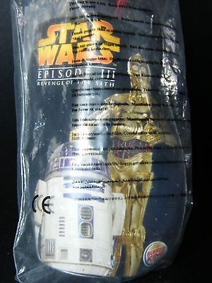 Star Wars Revenge Of The Sith Darth Vader Burger King Promotional Toy Figure NEW