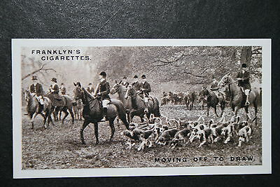 East Essex Foxhounds  Vintage 1920's Photo Card  VGC / EXC