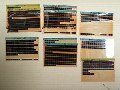 Honda XL XR 600 XL600 XR600 assorted microfiche x10 genuine parts catalogue USED