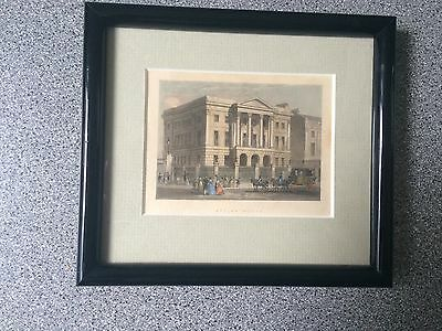 Framed Antique Print Of Apsley House- No 1 London