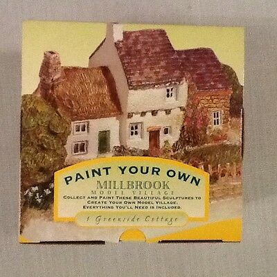 Paint Your Own Millbrook Village - Greenside Cottage