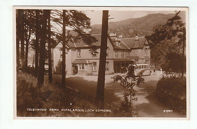 Colquhoun Arms Hotel Ardlui Loch Lomond Dunbartonshire 1938 Real Photograph